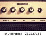 Retro Electric Guitar Amplifie...