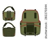 laptop messenger bag vector | Shutterstock .eps vector #282270344