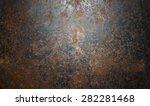 Steel Sprayed Red Rust.iron...