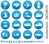 Transportation Progress Icons