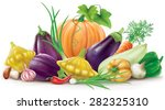 group of different colorful... | Shutterstock .eps vector #282325310