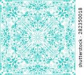 vector vintage floral  ornament | Shutterstock .eps vector #282350018
