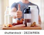 sport  fitness  healthy... | Shutterstock . vector #282369806