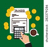 money concept design  vector... | Shutterstock .eps vector #282379286