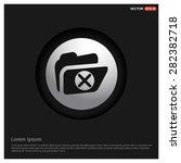 delete folder icon   abstract...