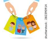 family love design  vector... | Shutterstock .eps vector #282390914