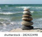 stones in balance | Shutterstock . vector #282422498