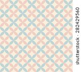 pastel retro vector seamless... | Shutterstock .eps vector #282429560