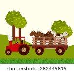 farm fresh design  vector... | Shutterstock .eps vector #282449819