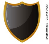 isolated heraldry shield on a... | Shutterstock .eps vector #282459920
