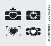 camera  logo vector set. trendy ... | Shutterstock .eps vector #282461519