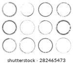 grunge rubber empty blank... | Shutterstock .eps vector #282465473