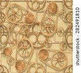 3d  wood texture background ... | Shutterstock . vector #282491810