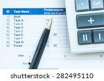 financial concept business... | Shutterstock . vector #282495110