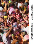 barcelona  spain   april 12 ... | Shutterstock . vector #282523088
