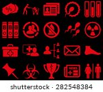 medical icon set. style  icons... | Shutterstock .eps vector #282548384
