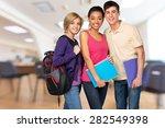 student  teenager  college... | Shutterstock . vector #282549398
