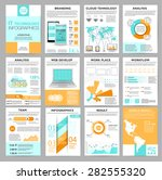 big set of infographics... | Shutterstock .eps vector #282555320