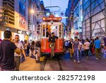 istanbul  turkey may 14  2015 ... | Shutterstock . vector #282572198