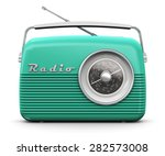 old turquoise or green vintage... | Shutterstock . vector #282573008