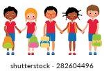 stock cartoon illustration of a ... | Shutterstock . vector #282604496