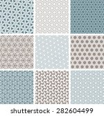 islamic patterns set | Shutterstock .eps vector #282604499
