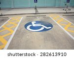Sign Disabled  Detail Of A...
