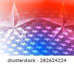 stars america celebration... | Shutterstock .eps vector #282624224