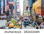 new york  usa   circa may 2015  ... | Shutterstock . vector #282632684