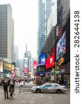 new york  usa   08.02.2015  ... | Shutterstock . vector #282644138