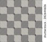 vector seamless pattern. modern ... | Shutterstock .eps vector #282644606
