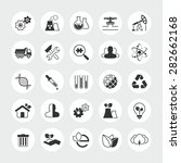 industry and ecology total... | Shutterstock .eps vector #282662168