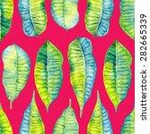 beautiful watercolor seamless...   Shutterstock . vector #282665339