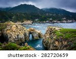View Of The Rocky Pacific Coast ...