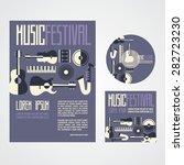 music festival poster...   Shutterstock .eps vector #282723230