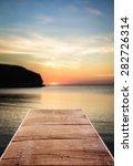 pier  winter  wooden floor.   Shutterstock . vector #282726314