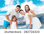 beach  summer  group. | Shutterstock . vector #282726323