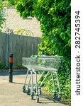 Supermarket Trolleys Abandoned...