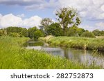 Small photo of Little creek in Brandenburg, Pfefferfliess. Was seen near Bad Belzig, in Brandenburg, in the Nuthe-Nieplitz Nature Park. This landscape is a result of land amelioration.