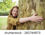 Nature Lover Blond Teen Girl...