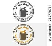 set of vintage labels  emblems  ... | Shutterstock .eps vector #282778754