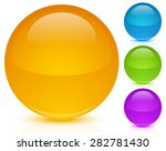 set of blank circles with space ... | Shutterstock .eps vector #282781430
