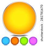Empty Colorful Circle Shape ...