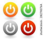 power buttons vector