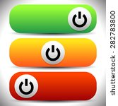 power buttons vector
