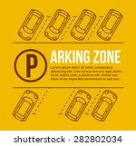 Vector Parking Lot Illustratio...