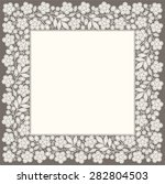 Pastel Colored Lace Doily....