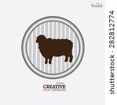 sheep icon.sheep.vector... | Shutterstock .eps vector #282812774