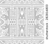 vector geometric background...   Shutterstock .eps vector #282816803