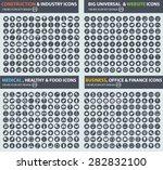 big icon set  construction ... | Shutterstock .eps vector #282832100